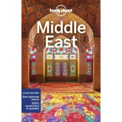 Middle East útikönyv Lonely Planet 2018
