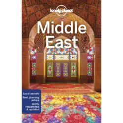 Middle East útikönyv Lonely Planet 2018