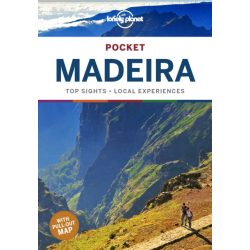 Madeira Lonely Planet Pocket Guide Madeira útikönyv angol 2019