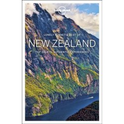 New Zealand útikönyv Best of New Zealand Lonely Planet Új-Zéland útikönyv 2018