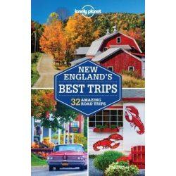 New England útikönyv Best Trips Lonely Planet 2017