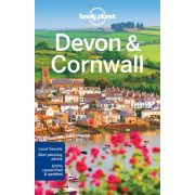 Devon Cornwall Lonely Planet, Devon útikönyv 2018