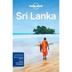 Sri Lanka Lonely Planet, Sri Lanka útikönyv 2018