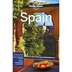Spain Lonely Planet Spanyolország útikönyv 2018