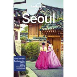 Seoul útikönyv Lonely Planet  Szöul útikönyv 2019