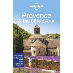 Provence & the Cote D'Azur Lonely Planet útikönyv 2019 Provence útikönyv angol