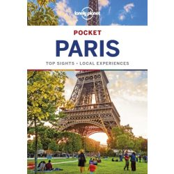 Paris Pocket Lonely Planet Párizs útikönyv 2018