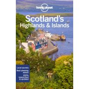 Scotland's Highlands and Islands Lonely Planet Skócia útikönyv 2019