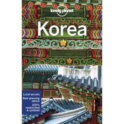 Korea útikönyv Lonely Planet  2019 Korea Lonely Planet Guide angol