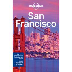 San Francisco útikönyv Lonely Planet 2017