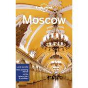 Moszkva útikönyv Moscow Lonely Planet  2018