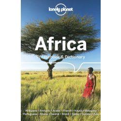 Africa Phrasebook & Dictionary Lonely Planet 2019  zulu szuahéli amhara afrikai szótár