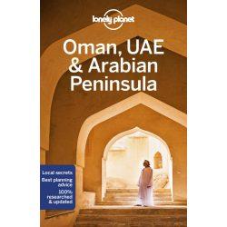 Oman útikönyv UAE Arabian Peninsula Lonely Planet útikönyv Szaúd-Arábia 2019