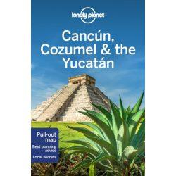 Cancún Cozumel Yucatan útikönyv Lonely Planet 2019 Cancun útikönyv angol