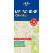 Melbourne térkép Lonely Planet City Map vízálló 1:12 500