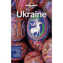 Ukraine Lonely Planet Ukrajna útikönyv  2018