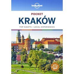Krakkó útikönyv Krakow Lonely Planet pocket 2020 angol