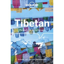 Lonely Planet tibeti szótár Tibetan Phrasebook & Dictionary 2020