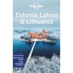 Estonia Lonely Planet, Estonia, Latvia, Lithuania Lonely Planet, Észtország útikönyv, Lettország Litvánia 2020