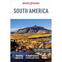 South America Insight Guides, Dél-Amerika útikönyv angol 2017