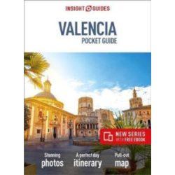 Valencia útikönyv Insight Guides, Valencia Pocket Guide, angol 2018 Travel Guide with Free eBook