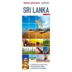 Sri Lanka térkép Insight Guides 1:750 000
