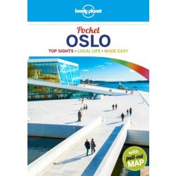 Oslo Lonely Planet Guide Pocket, Oslo útikönyv Lonely Planet 2018