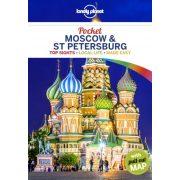 Moscow & St Petersburg Lonely Planet Pocket Moszkva útikönyv, Szentpétervár útikönyv  2018