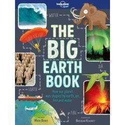The Big Earth Book Lonely Planet Guide 2017 angol könyv gyerekeknek