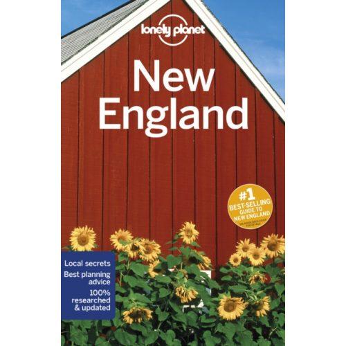 New England útikönyv Lonely Planet 2019 angol