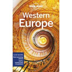 Europe, Western Europe útikönyv Lonely Planet Nyugat-Európa útikönyv 2019 angol
