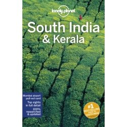 India útikönyv, South India & Kerala útikönyv Lonely Planet Dél-India útikönyv 2019
