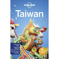 Taiwan útikönyv Lonely Planet 2020