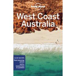 West Coast Australia útikönyv Lonely Planet  2019 Ausztrália útikönyv angol
