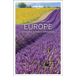 Europe Lonely Planet, Best of Europe, Európa útikönyv angol 2019