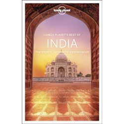 India útikönyv Best of India Lonely Planet  2019