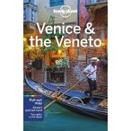 Venice útikönyv Lonely Planet, Velence útikönyv, Veneto útikönyv 2020