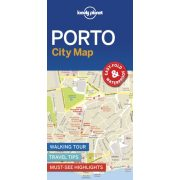 Porto térkép Lonely Planet