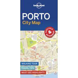 Porto térkép Lonely Planet
