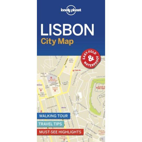 Lisszabon Terkep Lonely Planet 9781787014619 Portugalia