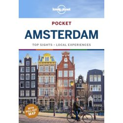 Amsterdam Pocket Guide Lonely Planet Amsterdam útikönyv 2020