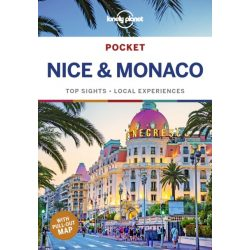Nice útikönyv Lonely Planet Pocket Nice & Monaco útiköny 2019