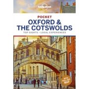 Oxford & the Cotswolds Lonely Planet Pocket Oxford útikönyv angol 2019