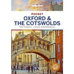Oxford & the Cotswolds Lonely Planet Pocket Oxford útikönyv angol 2019