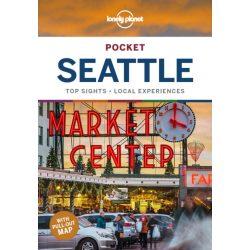 Seattle útikönyv Pocket Lonely Planet 2020 angol zsebkönyv