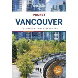 Vancouver útikönyv Lonely Planet Pocket Vancouver 2020 angol