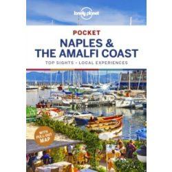 Naples & the Amalfi Coast Lonely Planet Pocket Nápoly útikönyv 2019 angol
