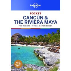 Cancun & the Riviera Maya útikönyv Lonely Planet Pocket 2019 Cancun útikönyv angol