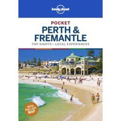 Perth & Fremantle Lonely Planet Pocket Ausztrália Perth útikönyv 2019 angol