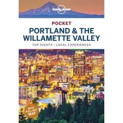 Portland útikönyv Lonely Planet Pocket Portland & the Willamette Valley  2020 angol